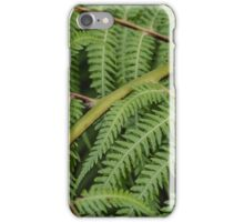 Macro Fern Leaves iPhone Case/Skin