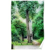 Severndroog Castle Through The Trees Poster