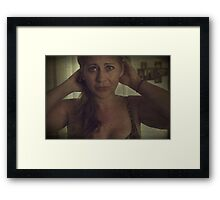 The Things You Said To Me Framed Print