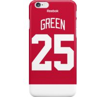 Detroit Red Wings Mike Green Jersey Back Phone Case iPhone Case/Skin