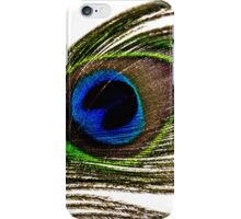 Macro Peacock Feather iPhone Case/Skin