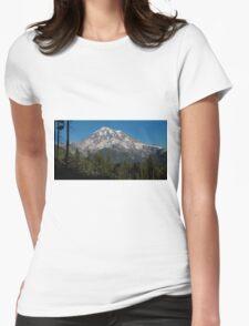 Mt. Rainier in Washington Womens Fitted T-Shirt
