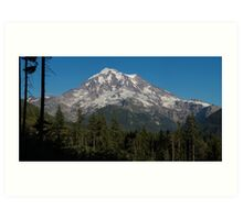 Mt. Rainier in Washington Art Print