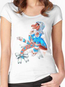 Lolita Raptor Women's Fitted Scoop T-Shirt