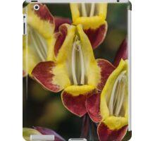 Macro Red and Yellow Flowers iPad Case/Skin