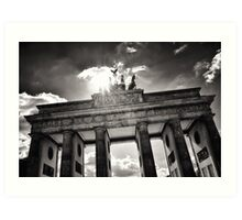 Brandenburg Gate (Brandenburger Tor) - Berlin Germany Art Print