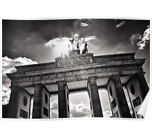 Brandenburg Gate (Brandenburger Tor) - Berlin Germany Poster