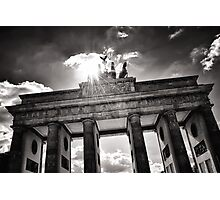 Brandenburg Gate (Brandenburger Tor) - Berlin Germany Photographic Print