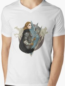 Imperial double axes Mens V-Neck T-Shirt