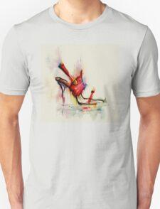 ladies shoe  T-Shirt