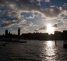 THE London Skyline by Dawn OConnor