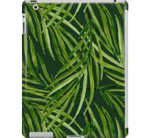 Tropical leaf pattern iPad Case/Skin