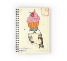 Robin has come to tea Spiral Notebook
