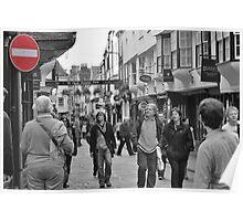 York - Street Shot Poster