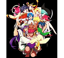 magi sinbad alibaba aladdin anime manga shirt Photographic Print