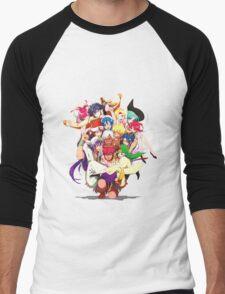 magi sinbad alibaba aladdin anime manga shirt Men's Baseball ¾ T-Shirt