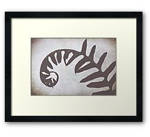return Framed Print