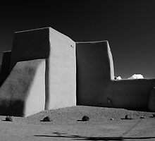 San Francisco de Asis chapel II, Taos New Mexico by Heidi Hermes