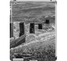 Monochrome Sea iPad Case/Skin