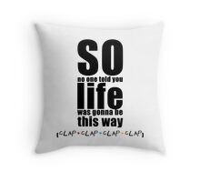 Friends Theme - Simple Typography Collection Throw Pillow