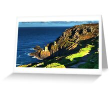 Crown Tin Mines of Botallack Greeting Card