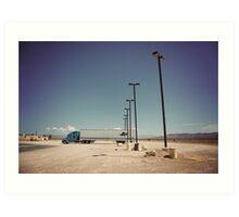 8000 miles USA : On the road 3 Art Print