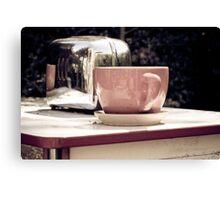 Tea & Toast Canvas Print