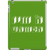 I'm a gamer iPad Case/Skin