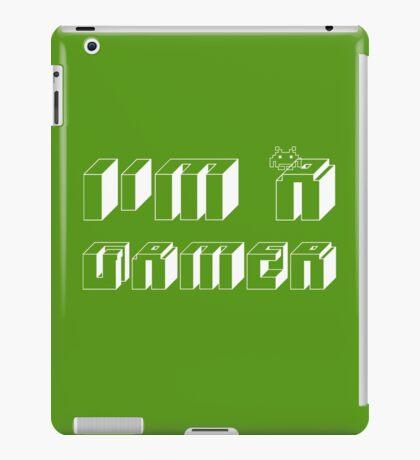 I'm a gamer iPad Case/Skin