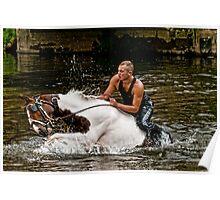 Gypsy Horse Fair Poster