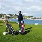 Golfing by Pigglepum