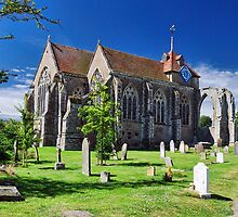 Winchelsea Church by Nigel Fletcher-Jones
