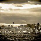 Hingham Harbor by Peter Maeck