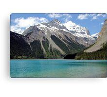 Kinney Lake British Columbia Canada Canvas Print