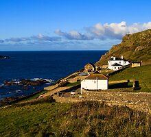 Cape Cornwall.! by Rob Hawkins