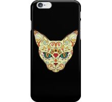 Calavera Cat iPhone Case/Skin