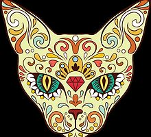 Calavera Cat by viSion Design
