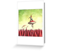 The Gnome Rebellion Greeting Card