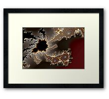 Mandelbrot and Spectacular Spirals Framed Print