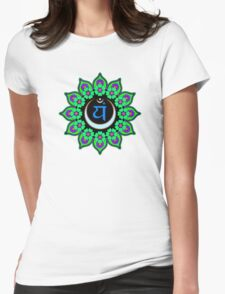 Anahata Chakra Womens Fitted T-Shirt