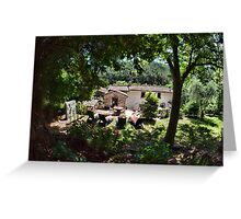 Tuscany Retreat Greeting Card