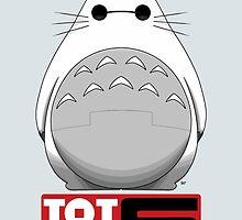 Totoro 6  by crabro