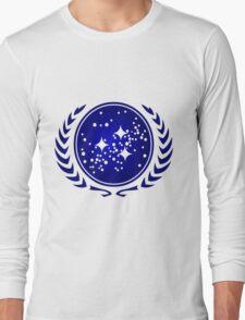 United Federation of Planets Logo Long Sleeve T-Shirt
