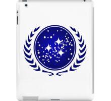 United Federation of Planets Logo iPad Case/Skin