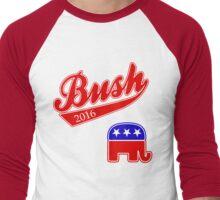 Vote for Jeb Bush 2016 for President Men's Baseball ¾ T-Shirt