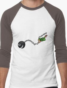 Link and Bow-Wow Men's Baseball ¾ T-Shirt