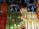 Shopping at the Naschmarkt. by Lee d'Entremont