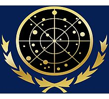 United Federation of Planets Logo: Gold Version Photographic Print