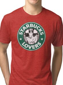 ts starbucks lovers Tri-blend T-Shirt