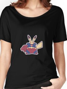 Superpika Women's Relaxed Fit T-Shirt